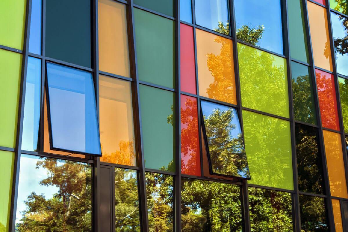 Coloured Aluminium Windows Hampshire